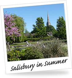 Summer in Salisbury, Wiltshire